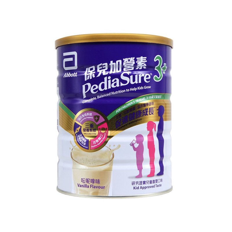 雅培保儿加营素3+ (呍呢嗱味)奶粉