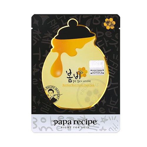 韩国Papa Recipe春雨黑炭面膜10枚/包