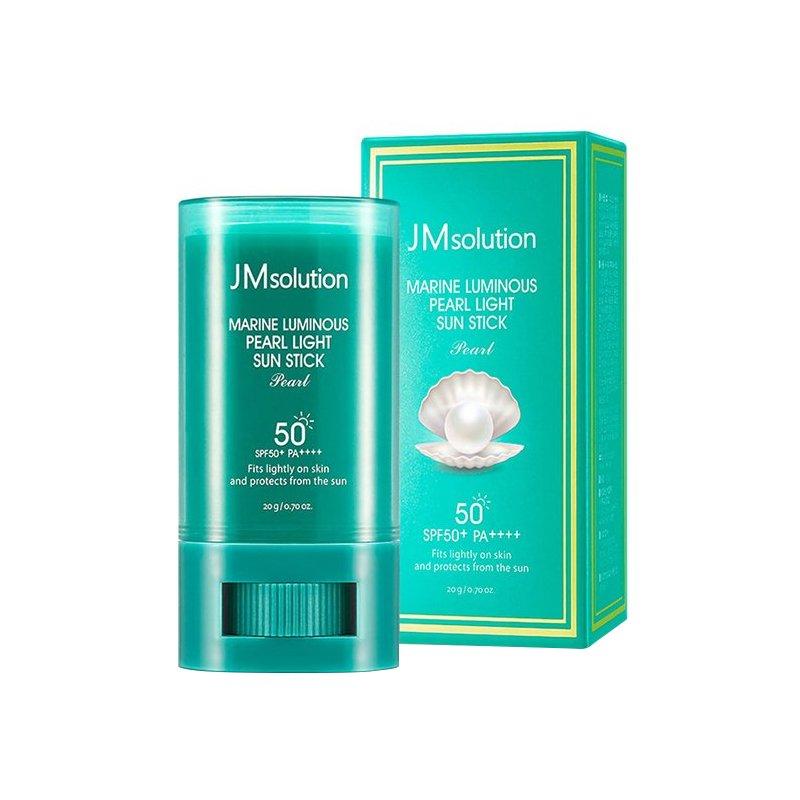 韩国JM-soulution珍珠防晒霜20g/盒