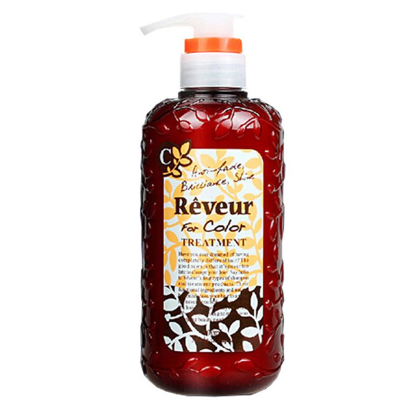 日本Reveur无硅洗护发素 橘色500ml/瓶