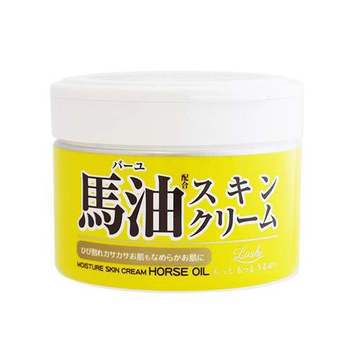 日本Loshi马油膏面霜220g/瓶