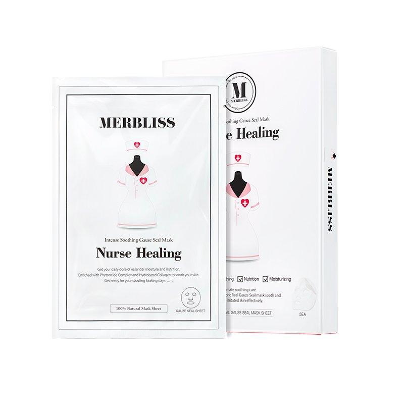 韩国Nurse Healing护士面膜5枚/盒