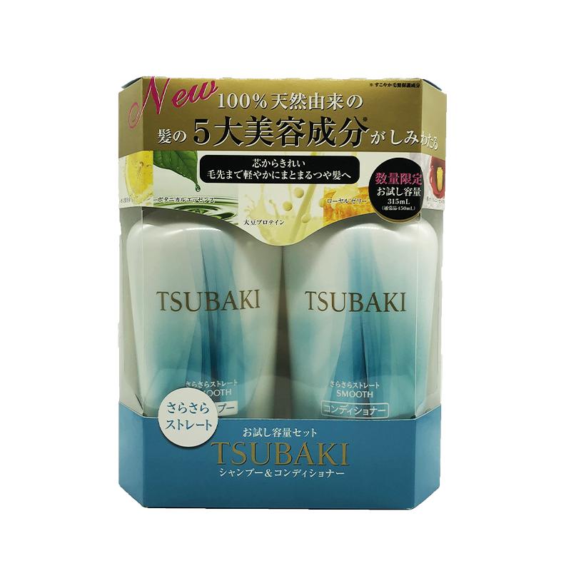 TSUBAKI洗发护发套装新款 蓝630ml/盒