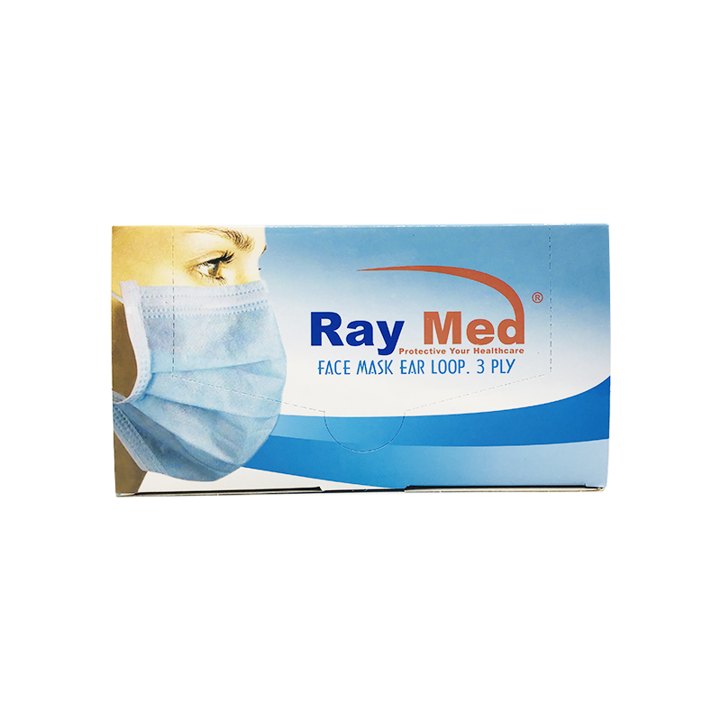 Raymed口罩50枚/盒(2.5元/个)