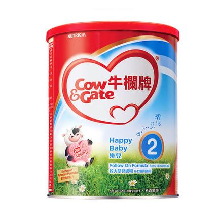 牛栏牌乐儿2段较大婴儿奶粉