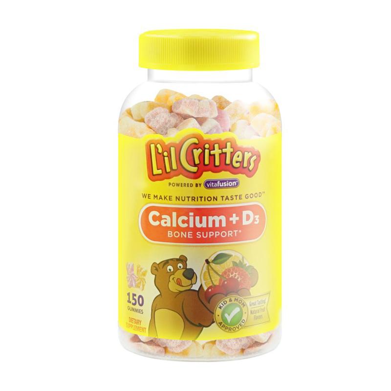 熊宝宝钙+D3儿童营养软糖150粒/瓶