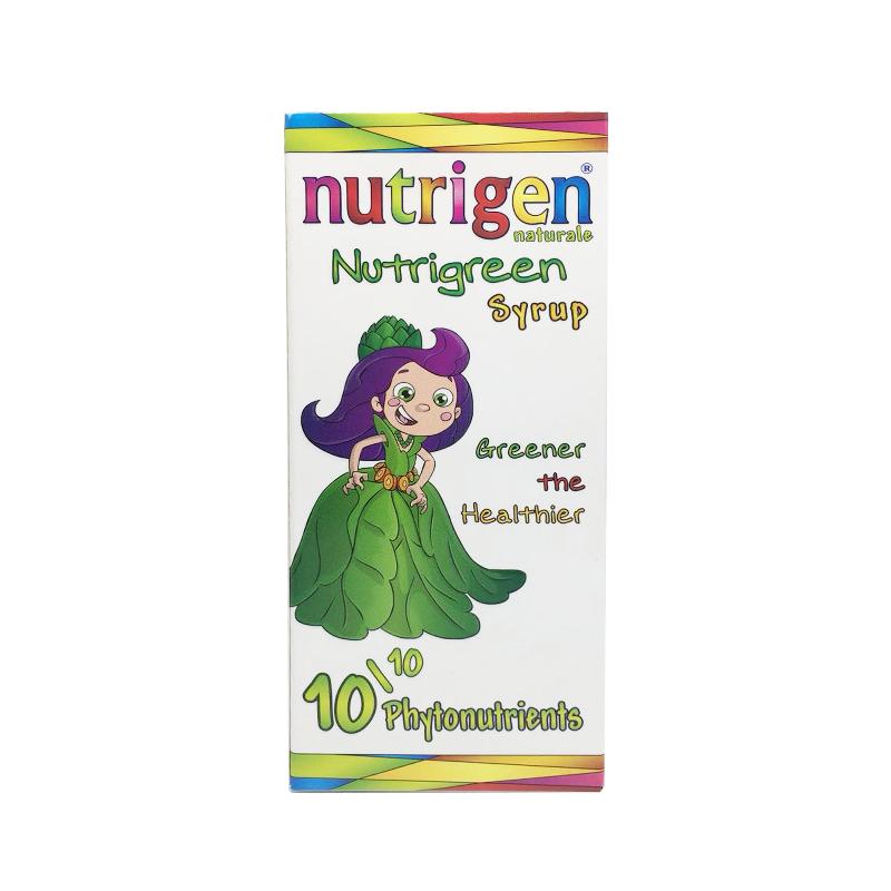 Nutrigen Nutrigreen Syrup 多种植物营养素150毫升/瓶