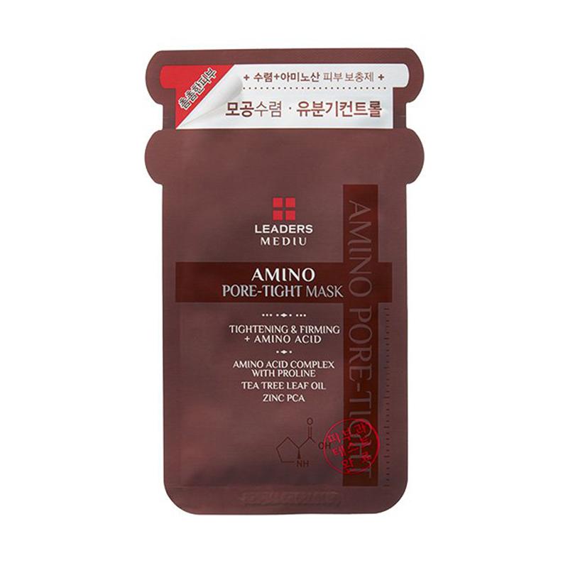 韩国丽得姿美蒂优氨基酸收缩毛孔面膜 10片/盒