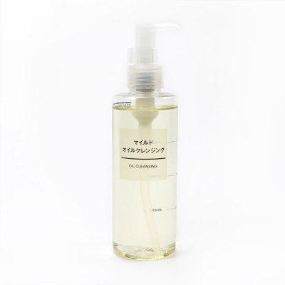 日本MUJI无印良品卸妆油200ml/瓶