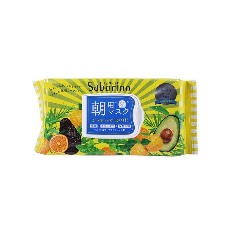 日本saborino早安面膜32片/包