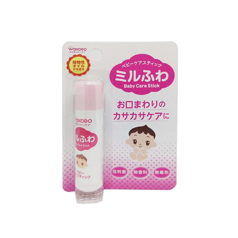 日本 和光堂婴儿保湿润唇膏5g/支