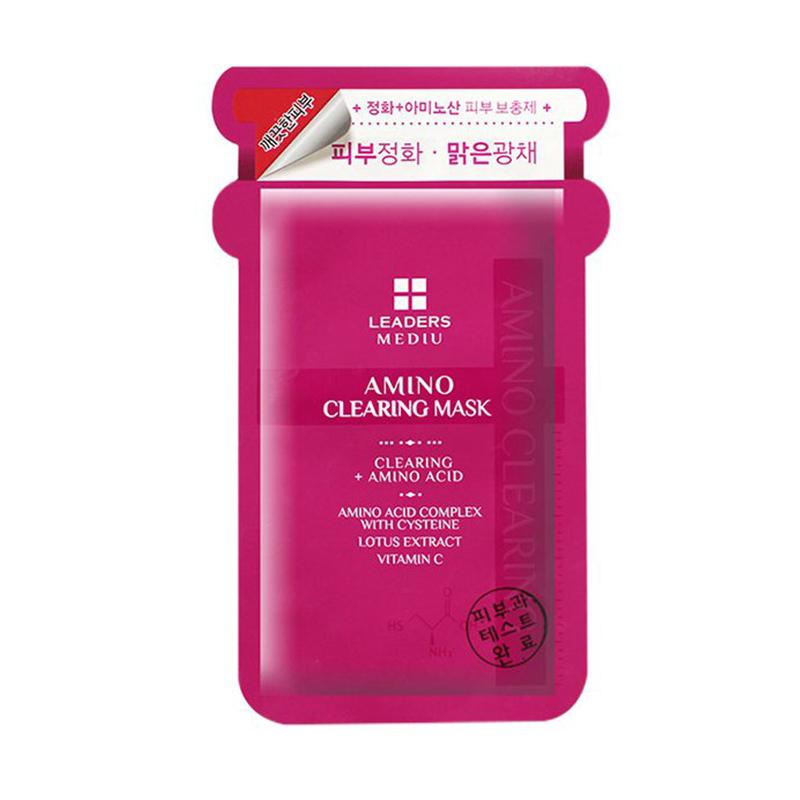 韩国丽得姿美蒂优氨基酸净肤面膜 10片/盒