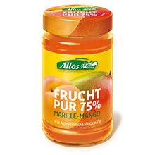 德国ALLOS有机芒果鲜果果泥酱