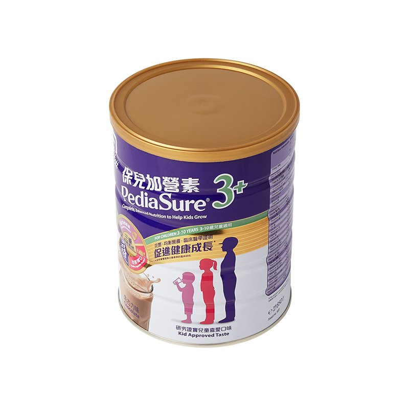 雅培保儿加营素3+ (朱古力味)奶粉
