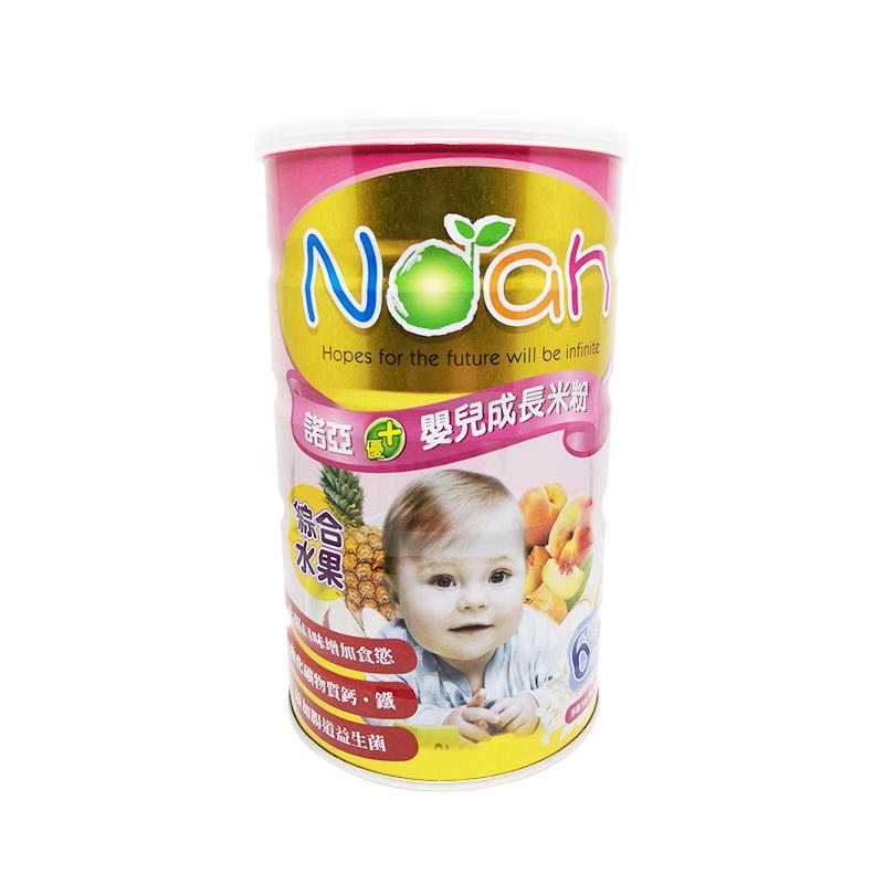 诺亚优+婴儿成长米粉 (综合水果配方)