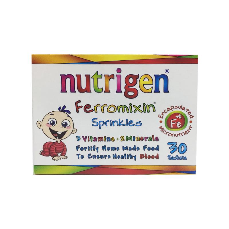 Nutrigen Ferromixin婴幼儿铁补充剂30包/盒