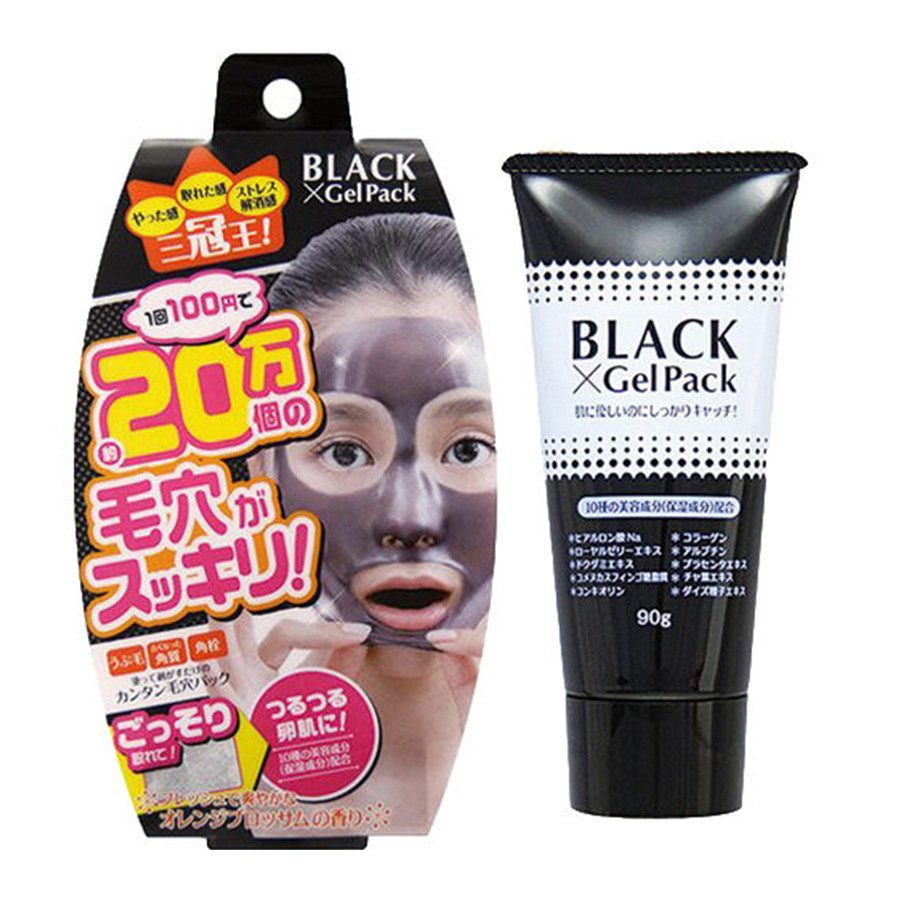 BLACK Gel Pack撕拉式面膜90g/支