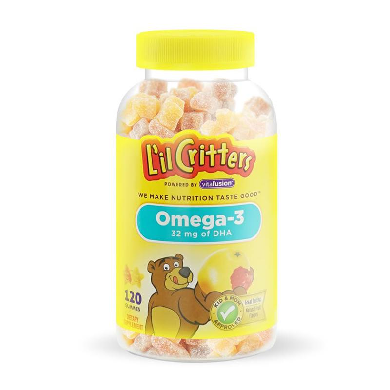 熊宝宝奥米加儿童软糖120粒/瓶